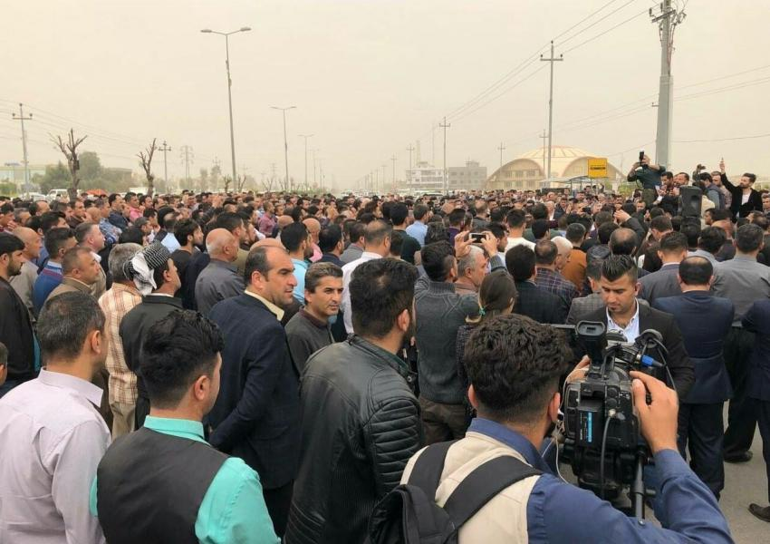 اعتصاب معلمان اقلیم کردستان