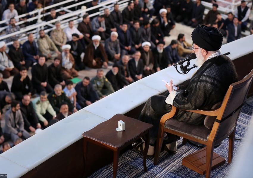 سخنرانی علی خامنهای در مراسم درگذشت آیتالله خمینی