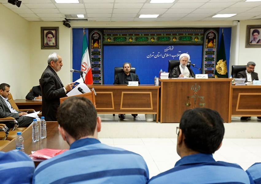 هشتمین جلسه دادگاه رسیدگی به اتهامات متهمان اخلال در توزیع تلفن همراه