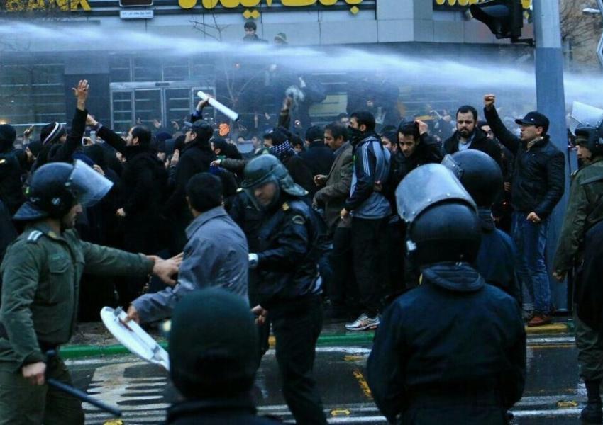 تجمع اعتراضی در مشهد