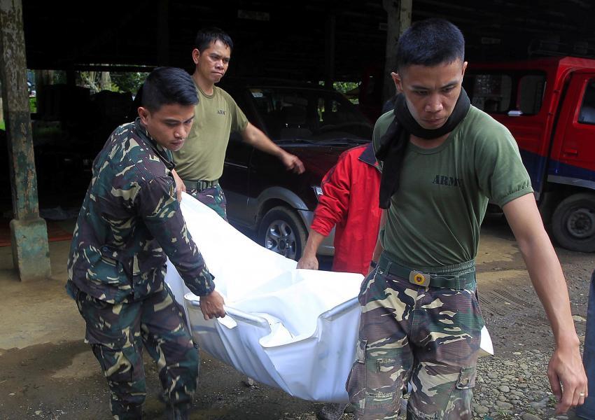 کشف اجساد کشتهشده بهدست نیروهای وابسته به داعش در ماراوی فیلیپین