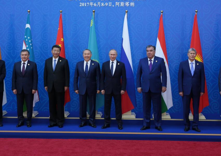 هفدهمین اجلاس سازمان همکاری های شانگهای