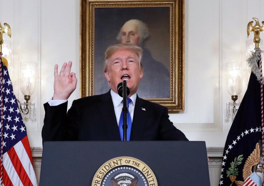 دونالد ترامپ، روز جمعه، مواضع نهایی خود را درمورد برجام و جمهوری اسلامی و افق چشماندازش را در مواجهه با این دوموضوع، مطرح کرد