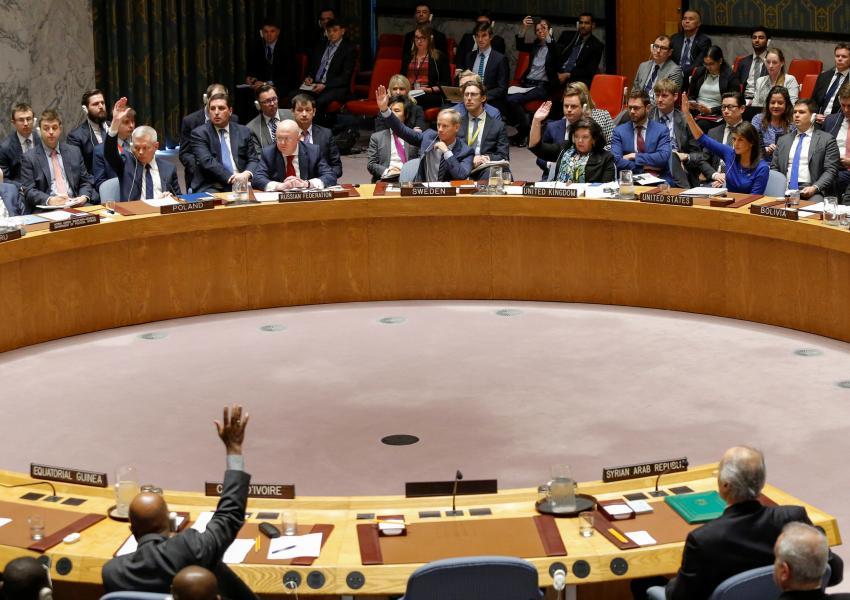 پیشنویس قطعنامه روسیه در شورای امنیت