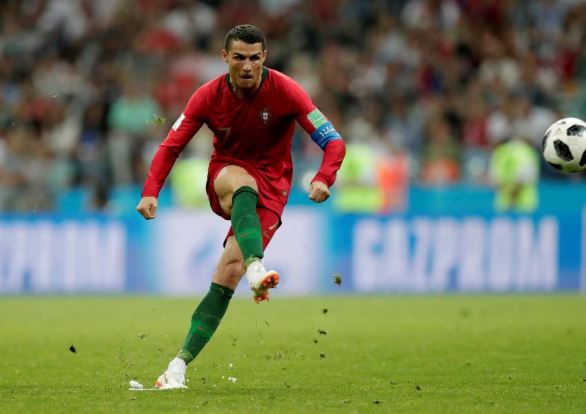 هتتریک رونالدو و گل سوم تیم پرتغال