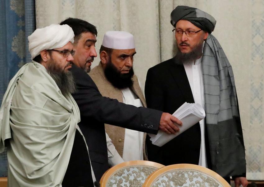 هیأت فرستاده طالبان در نشست چندجانبه مسکو