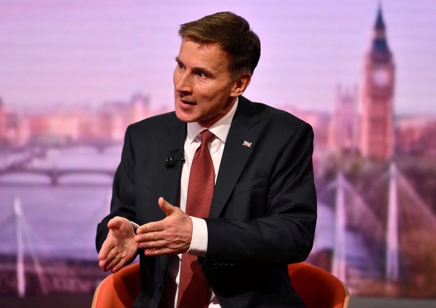 جرمی هانت، وزیر خارجه بریتانیا