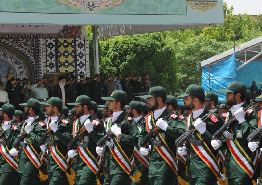 رژهی نیروهای سپاه پاسداران جمهوری اسلامی
