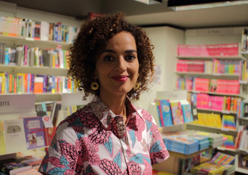 لیلا سلیمانی، نویسنده مراکشیتبار اهل فرانسه