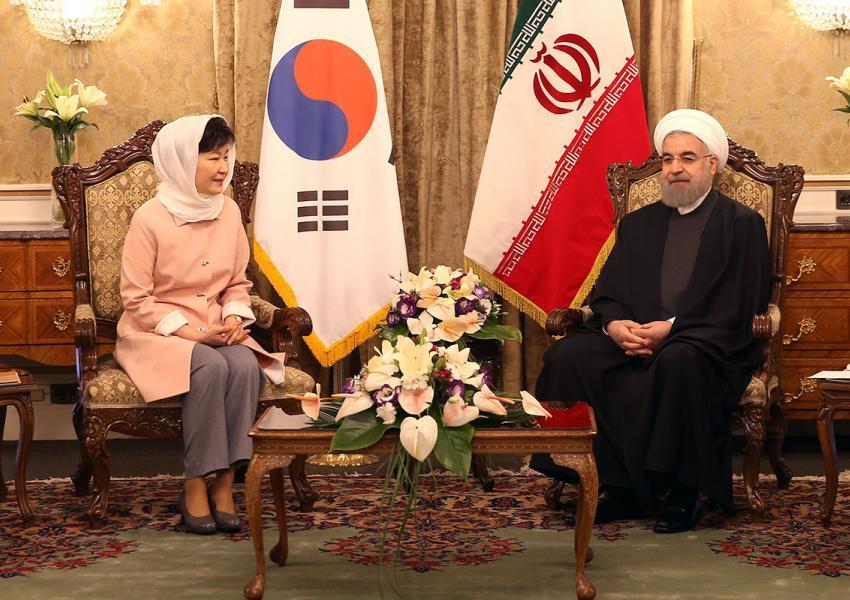 سفر رییس جمهوری کره جنوبی به ایران در سال ۹۵