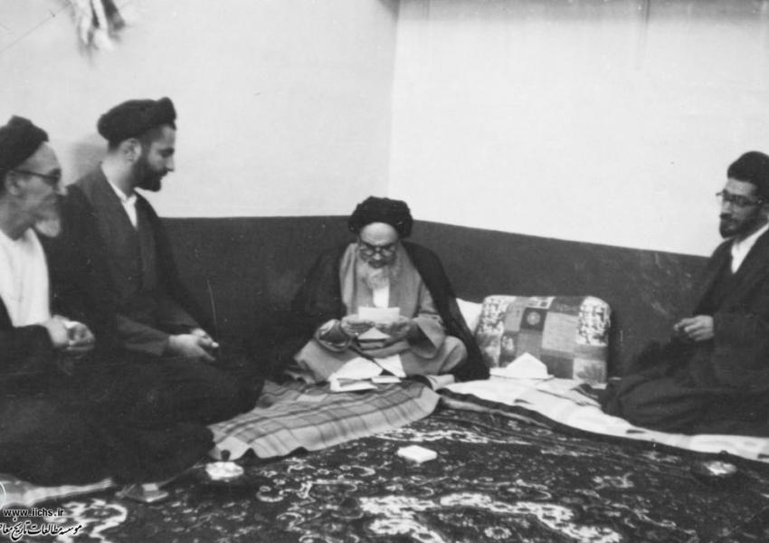 روحالله خمینی در نجف