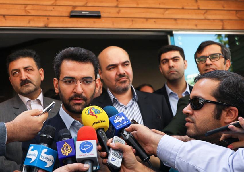 محمد جواد آذری جهرمی، وزیر ارتباطات و فناوری اطلاعات جمهوری اسلامی ایران