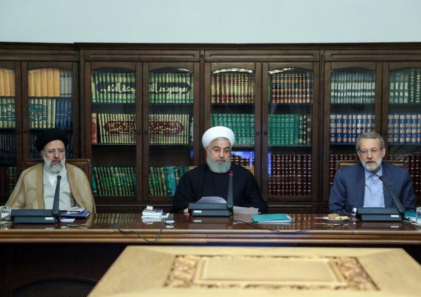 روسای سه قوه در جلسه شورای عالی هماهنگی اقتصادی