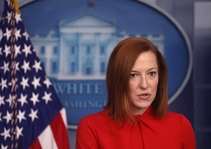 Jen Psaki, White House spokesperson. FILE Photo