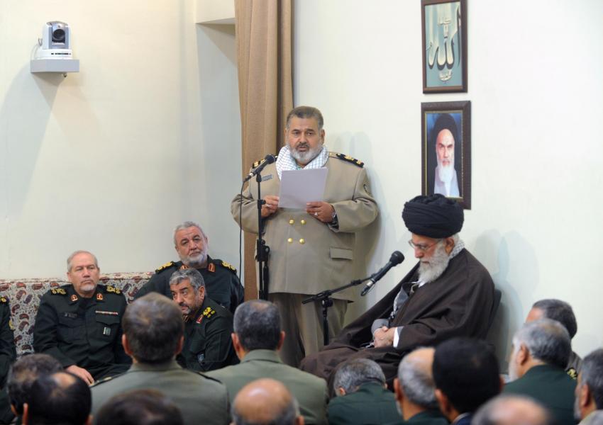 حسن فیروزآبادی، مشاور عالی نظامی رهبر جمهوری اسلامی