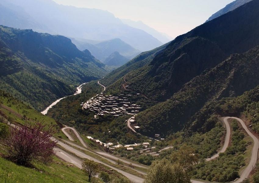 ارتفاعات اورامان در استان کردستان