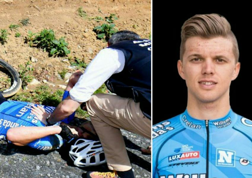 مایکل گول آرتس، دوچرخه سوار ۲۳ ساله بلژیکی