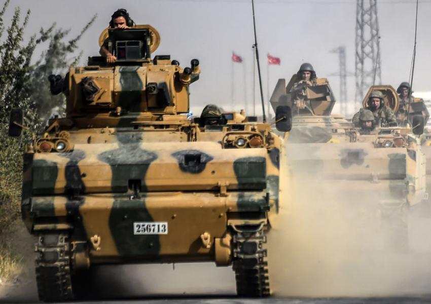نخستین پایگاه نظامی در حلب سوریه