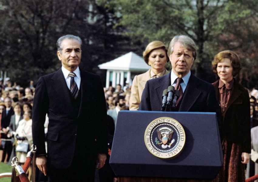 جیمی کارتر و محمدرضا شاه