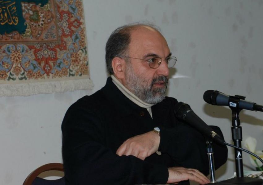 Undated photo of Iran analyst and political operative, Abbas Abdi.