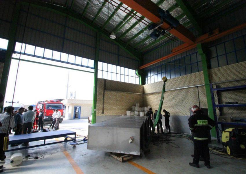 مرگ دو کارگر شیرازی بر اثر یخ زدگی در مخزن آمونیاک