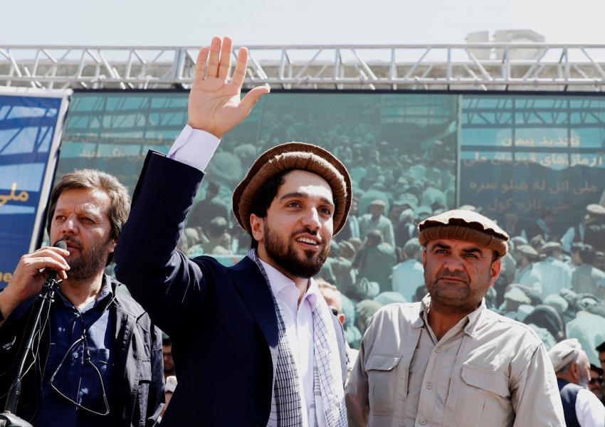Ahmad Massoud, son of the slain hero of the anti-Soviet resistance Ahmad Shah Massoud. FILE PHOTO