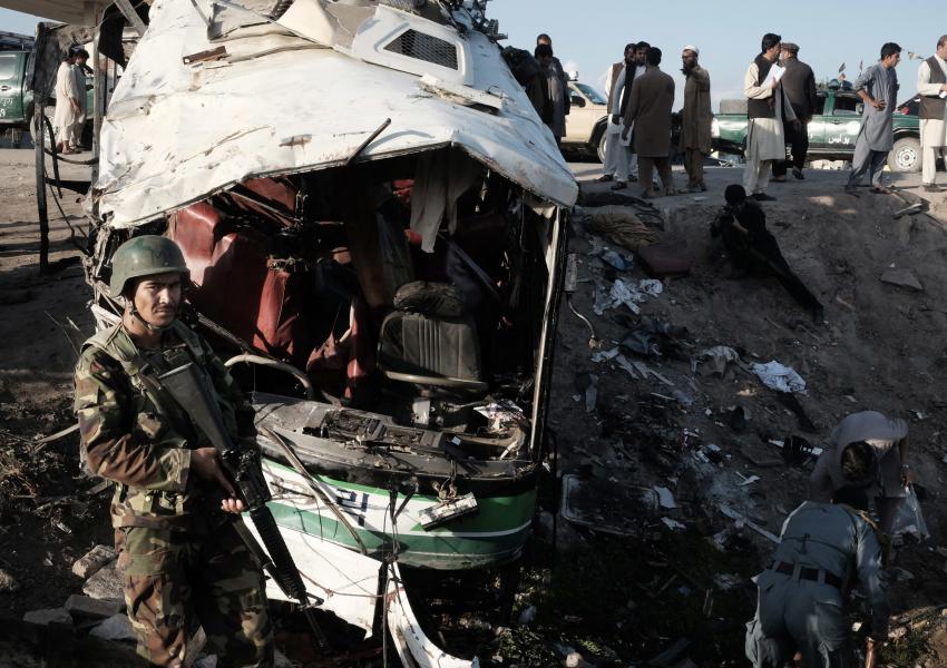 حمله انتحاری در قندهار