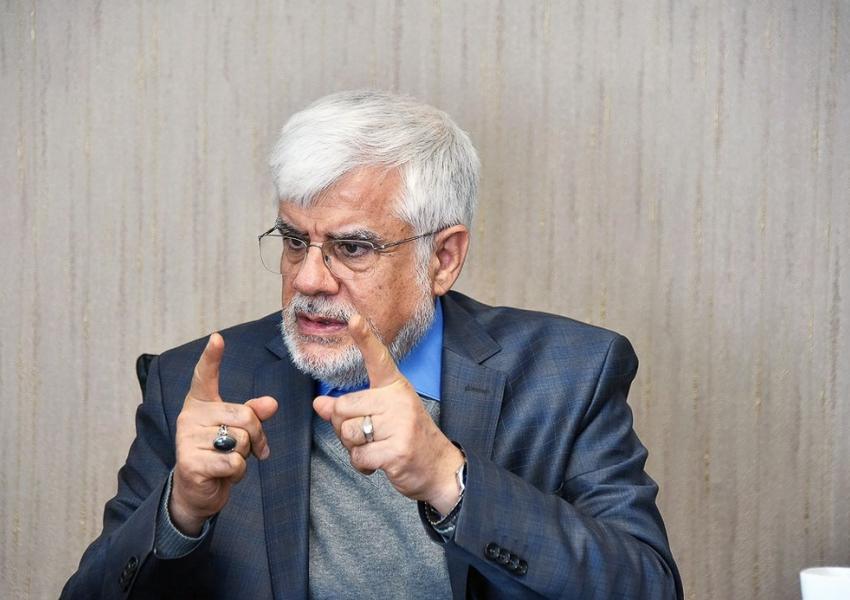 Mohammad-Reza Aref, a reformist politician in Iran. FILE