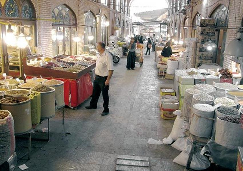 The traditional bazaar in Iran. FILE PHOTO