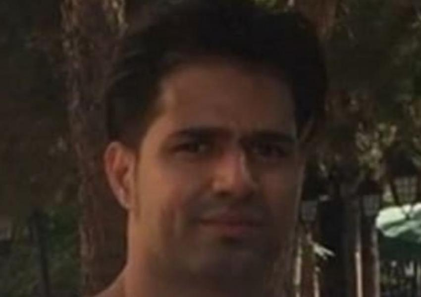 Behnam Mahjoubi A Gonabadi dervish in Evin Prison. Undated