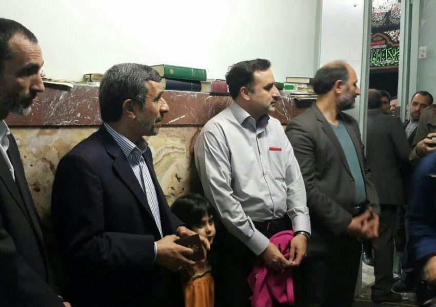 احمدی نژاد و بقایی