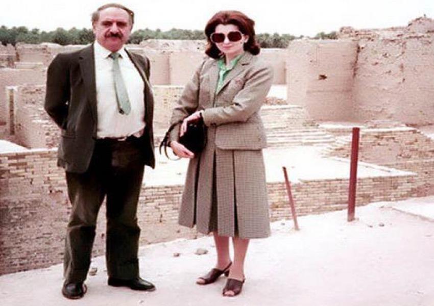 عبدالرحمان قاسملو و همسرش نسرین قاسملو