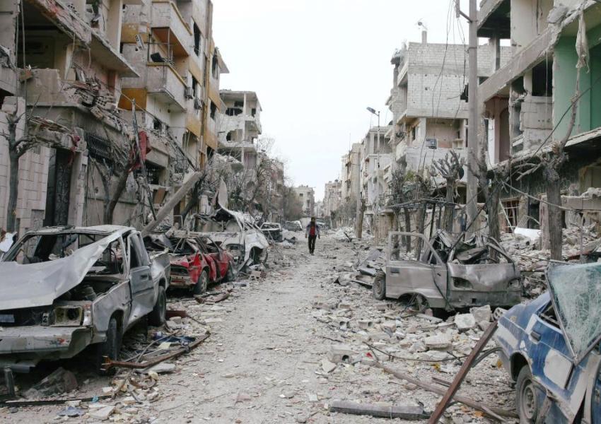 بمباران در غوطه شرقی