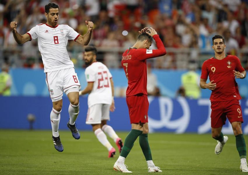 تساوی ایران مقابل پرتغال