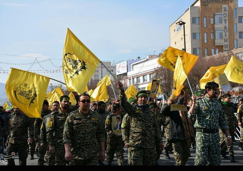Members of the Afghan Fatemiyoun brigades organized by Iran. FILE PHTO