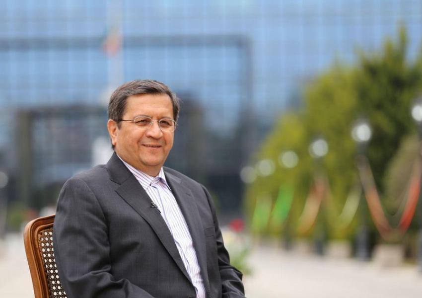 Andolnaser Hemmati, Chief of Iran Central Bank. May 27, 2021