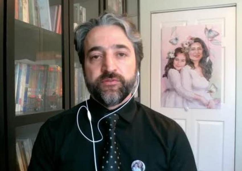 Hamid Esmaeilion, representative of Ukrainian airliner crash victims. FILE Photo