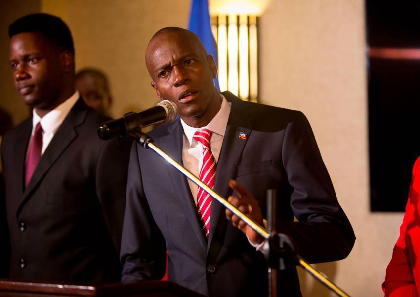 ژووِنل مویس، رییس جمهوری هائیتی
