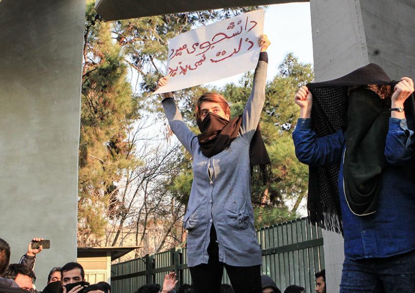 نزدیک به ۵ هزار نفر در تجمعات اعتراضی دی ماه بازداشت شدند