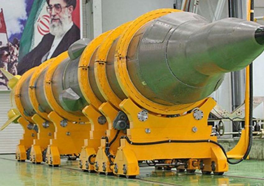 A n Iranian ballistic missile. FILE