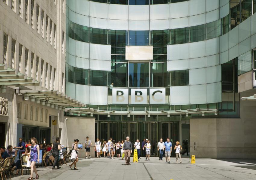 ساختمان مرکزی بیبیسی در لندن