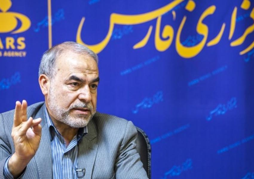 Yadollah Javan of the IRGC during an interview with Fars. April 2, 2021