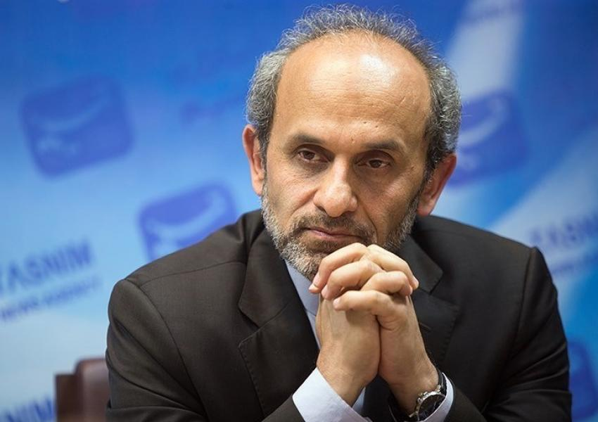 Peyman Jebelli, top executive at Iran's state TV. FILE PHOTO