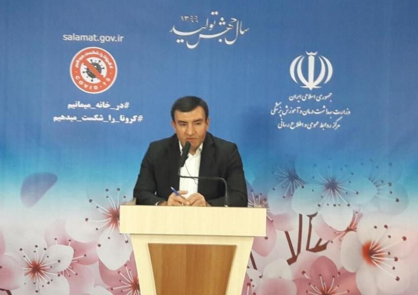 حمیدرضا جمشیدی، دبیر ستاد ملی مدیریت و مقابله با کرونا در وزارت بهداشت