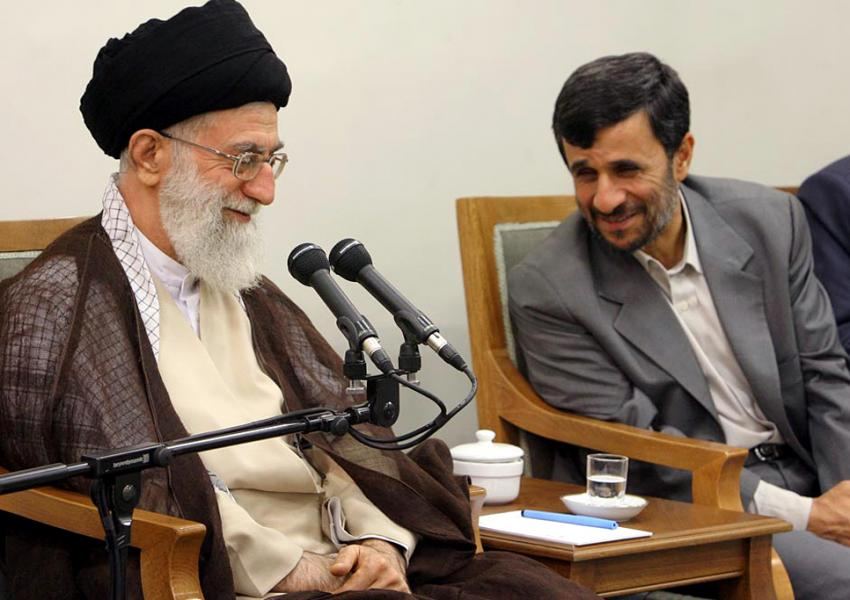 نامه احمدی نژاد به رهبر