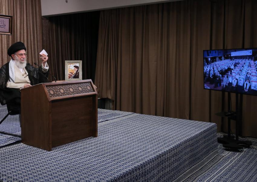 Ali Khamenei's televised speech, September 21, 2020