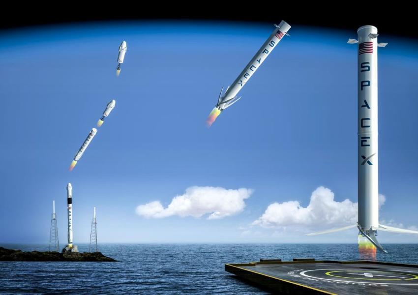 موشکهای پروژه اسپیس ایکس