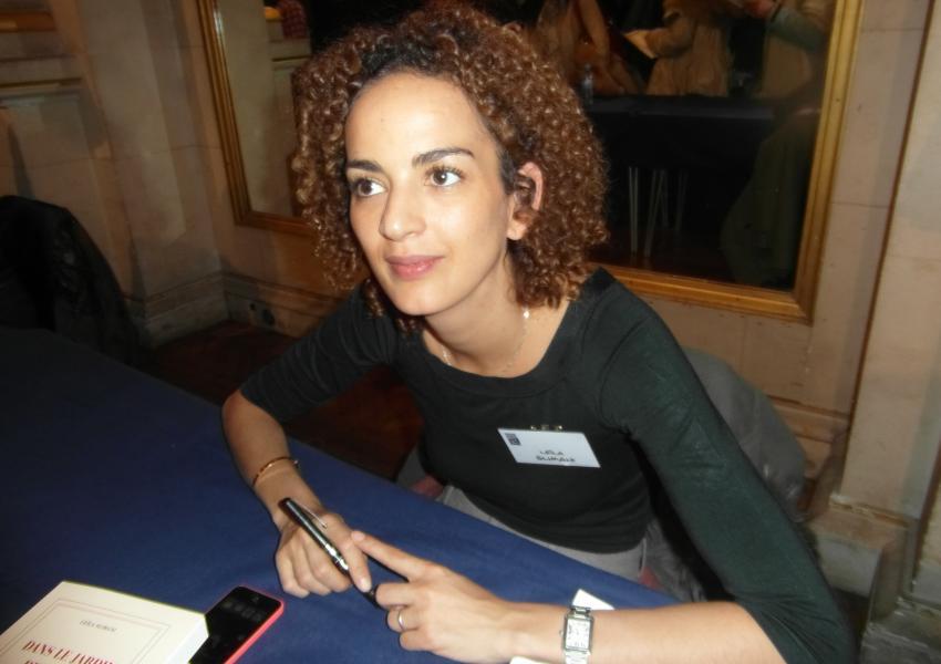 لیلا سلیمانی، نویسنده کتاب ترانه بینقص