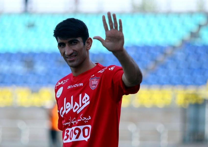 علیرضا بیرانوند، دروازه بان پرسپولیس تهران و تیم ملی فوتبال ایران