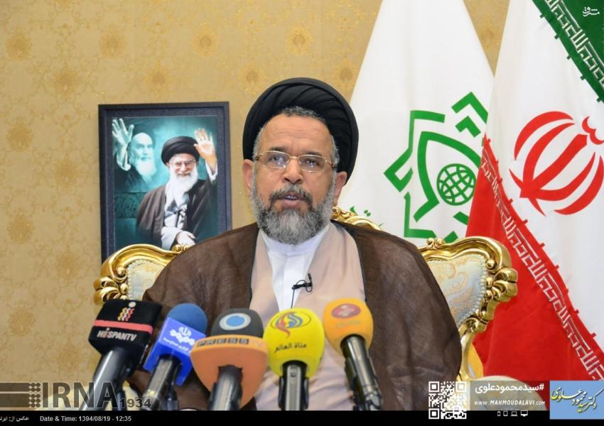Mahmoud Alavi, Iran's intelligence minister in Hassan Rouhani's cabinet. FILE